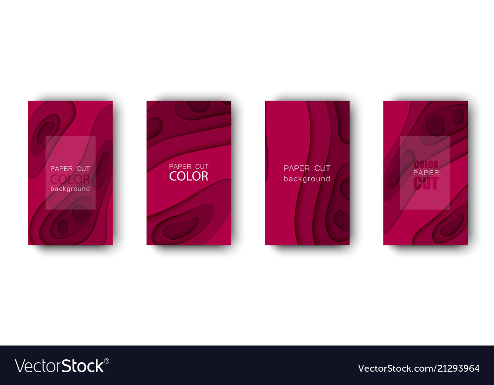 Set abstract cover backgrounds in paper