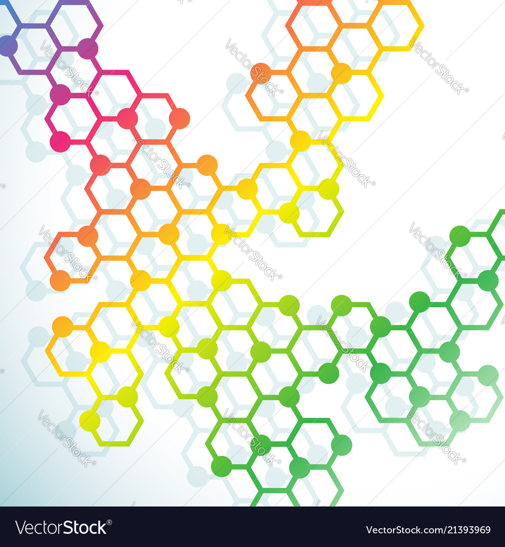 Abstract molecules and atoms design for
