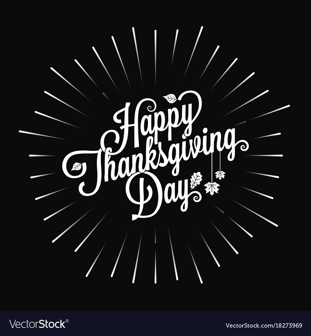 Thanksgiving logo star burst design background