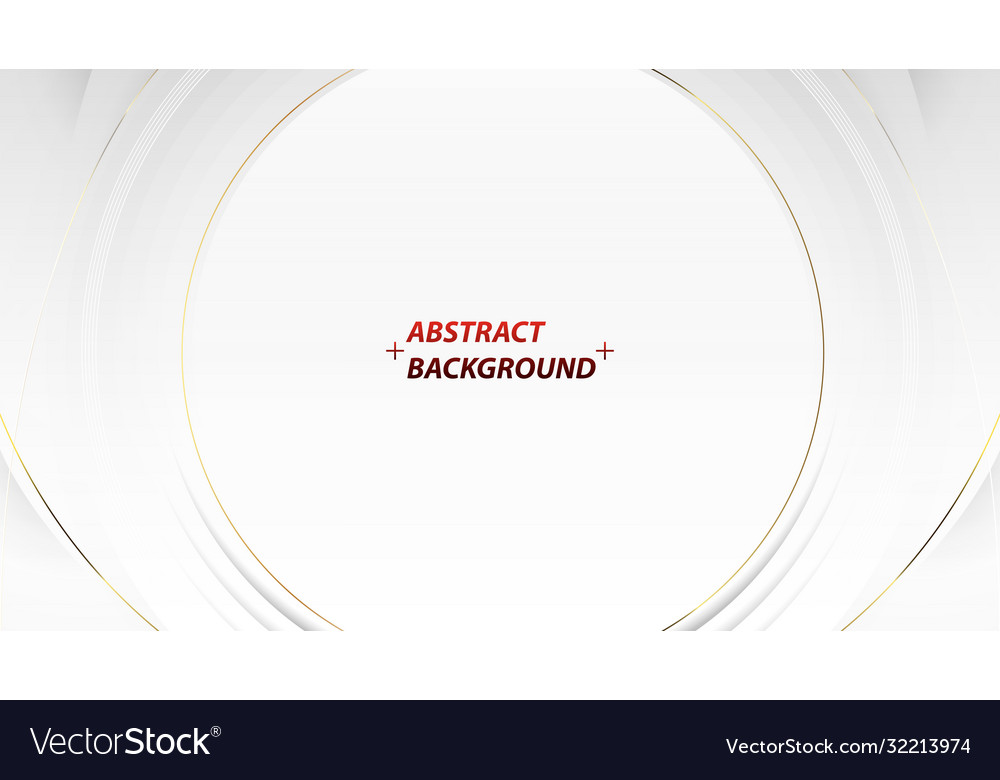 Modern abstract gold silver round style background