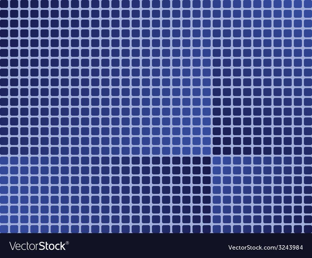 Blue tiles - seamless wallpaper