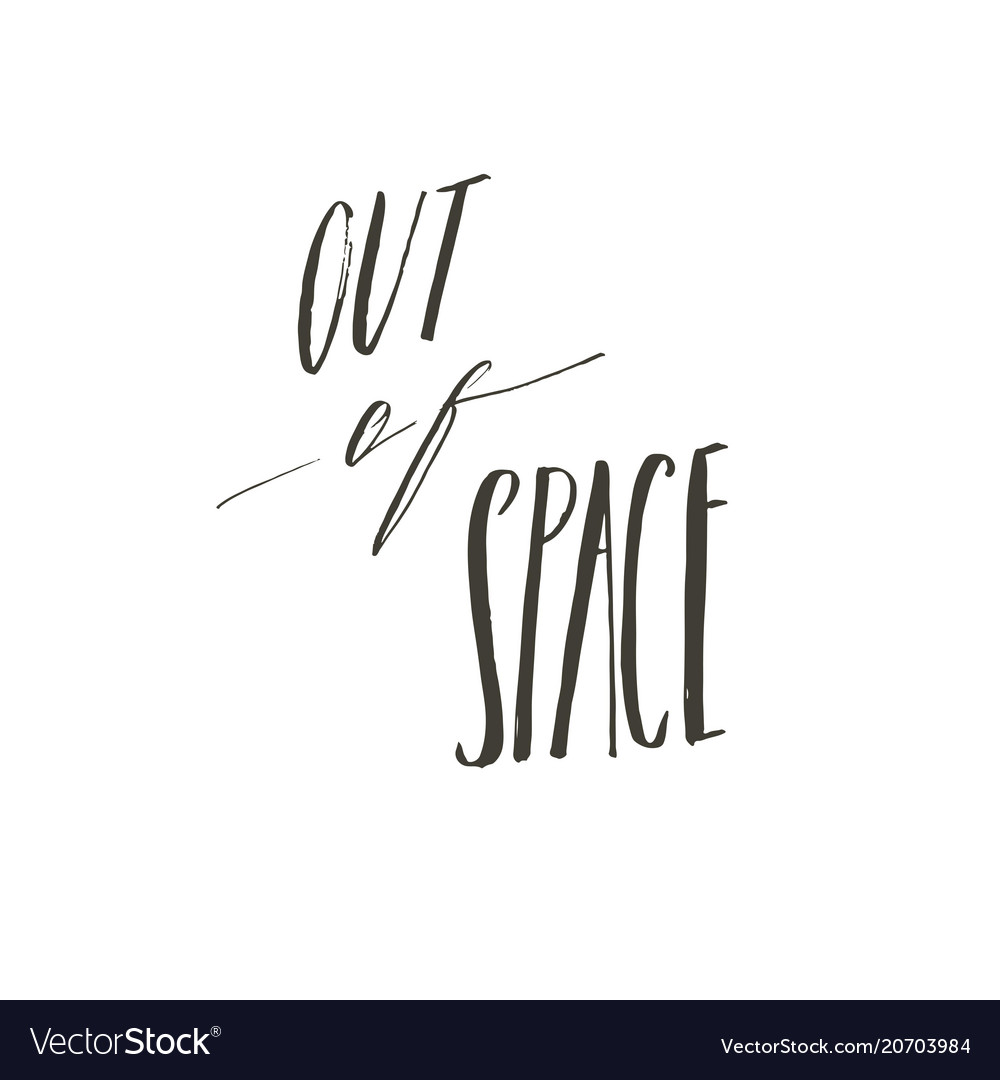 Hand drawn abstract graphic creative vector image