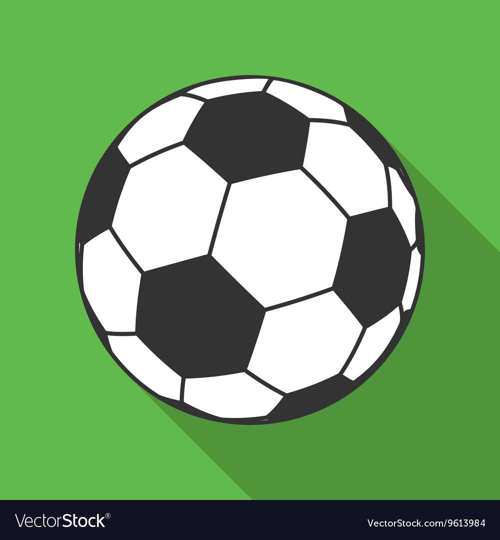 Icon of Ball for european football Soccer symbol