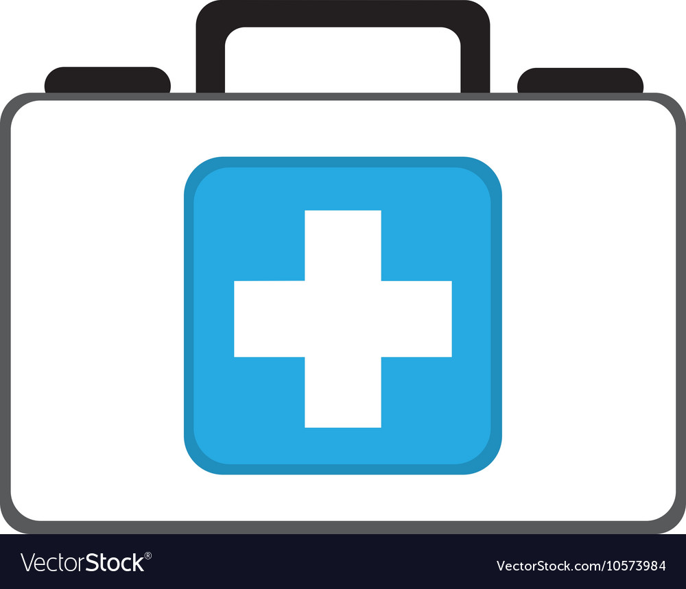 Kit Medical Store Isolated Icon Royalty Free Vector Image