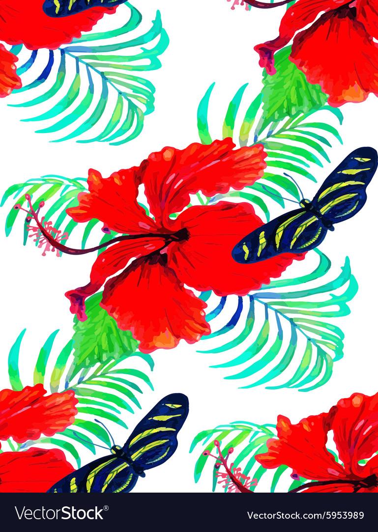 Hibiscus pattern2