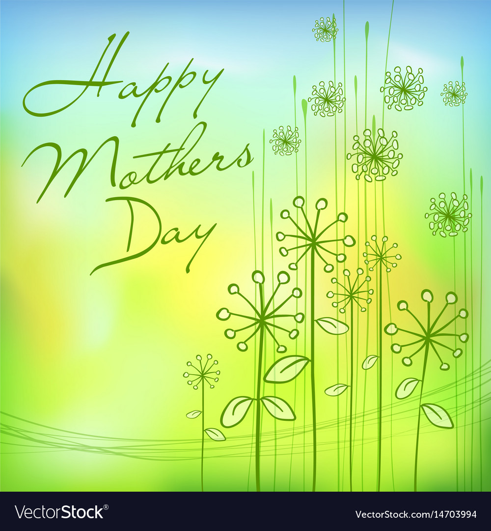 Mothers day green card