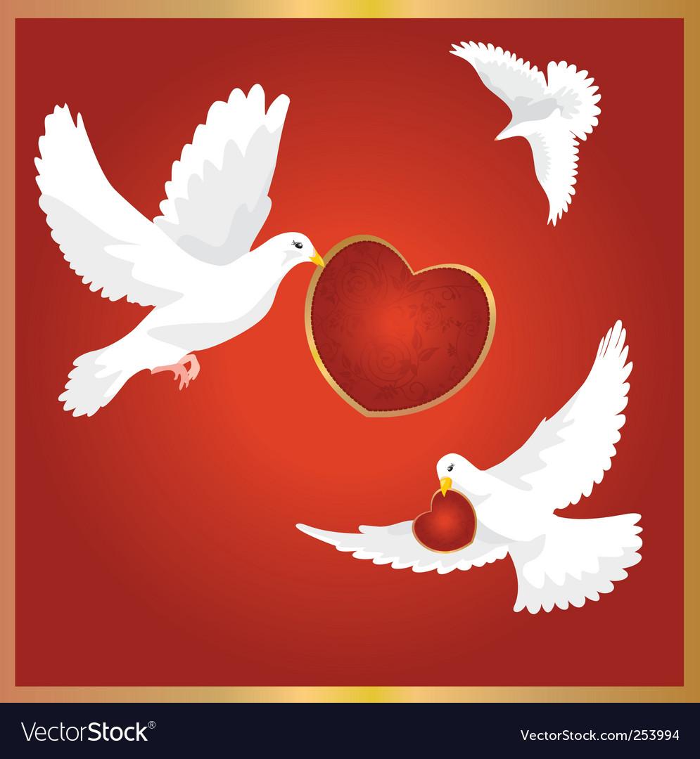 Птица символ дня святого валентина в великобритании