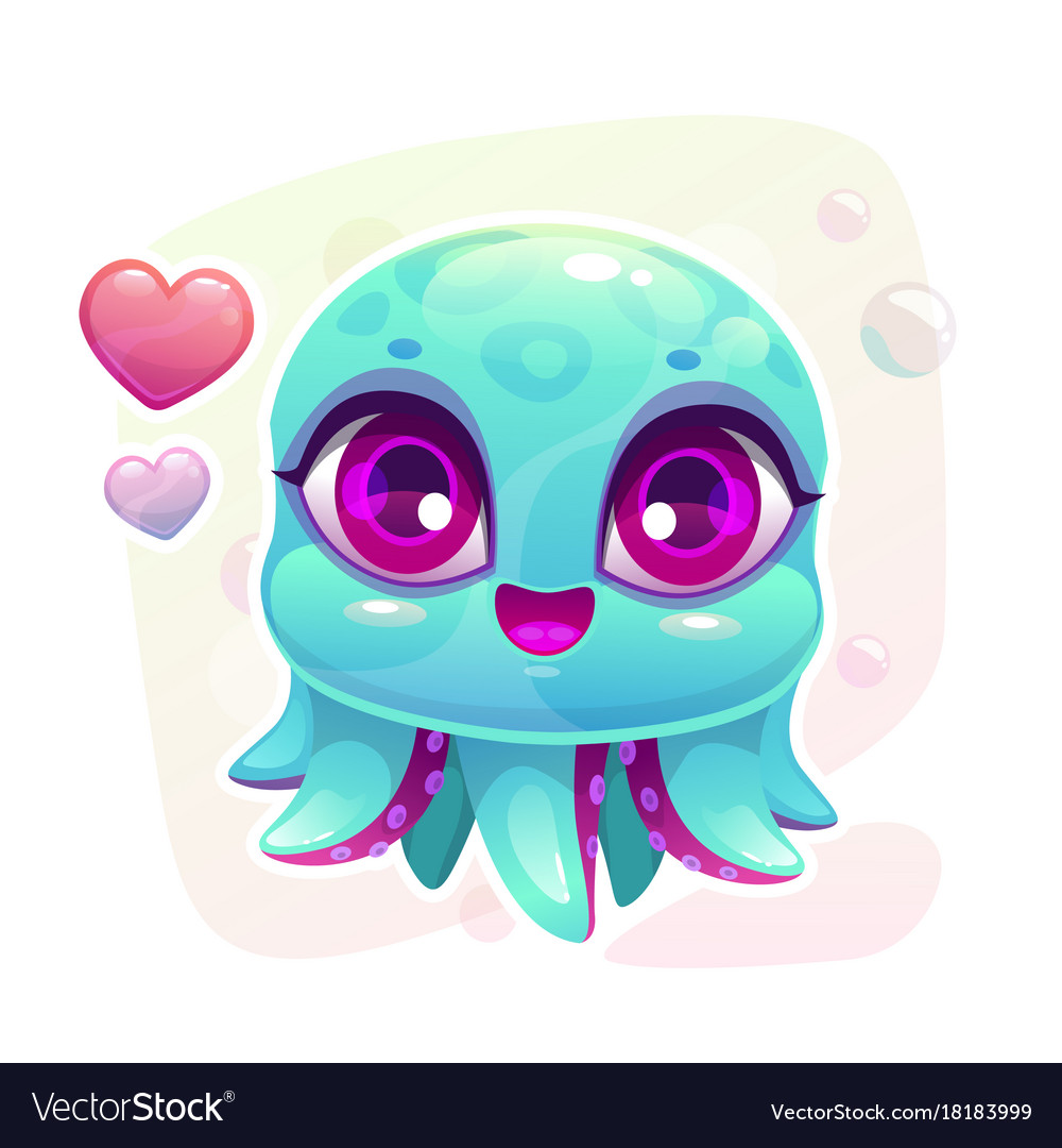 Picture Of Octopus Cartoon - picture of