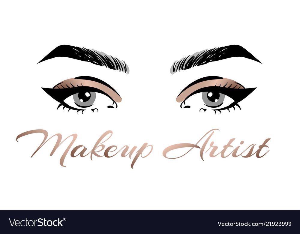 Makeup Artist Business Card Template Hand