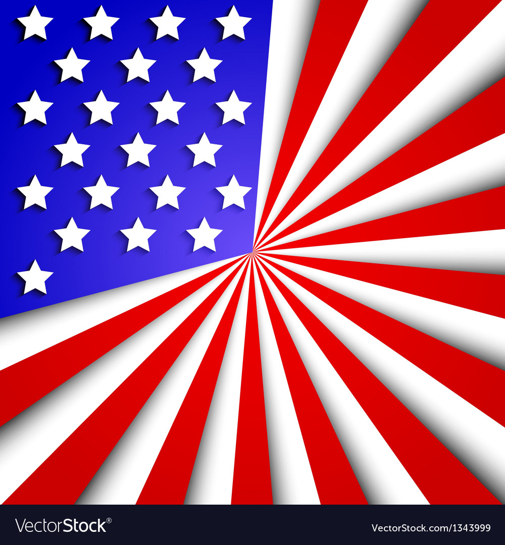 usa flag background eps10 royalty free vector image