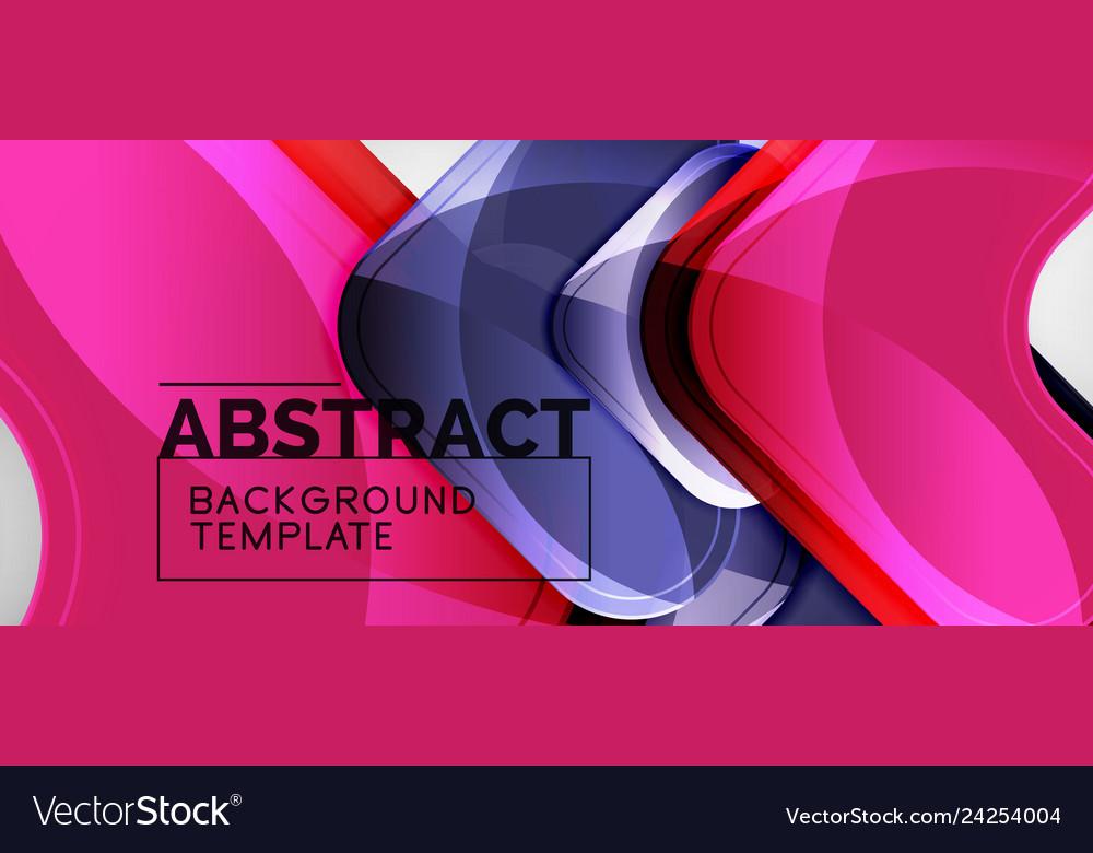 Arrow background modern style geometry design