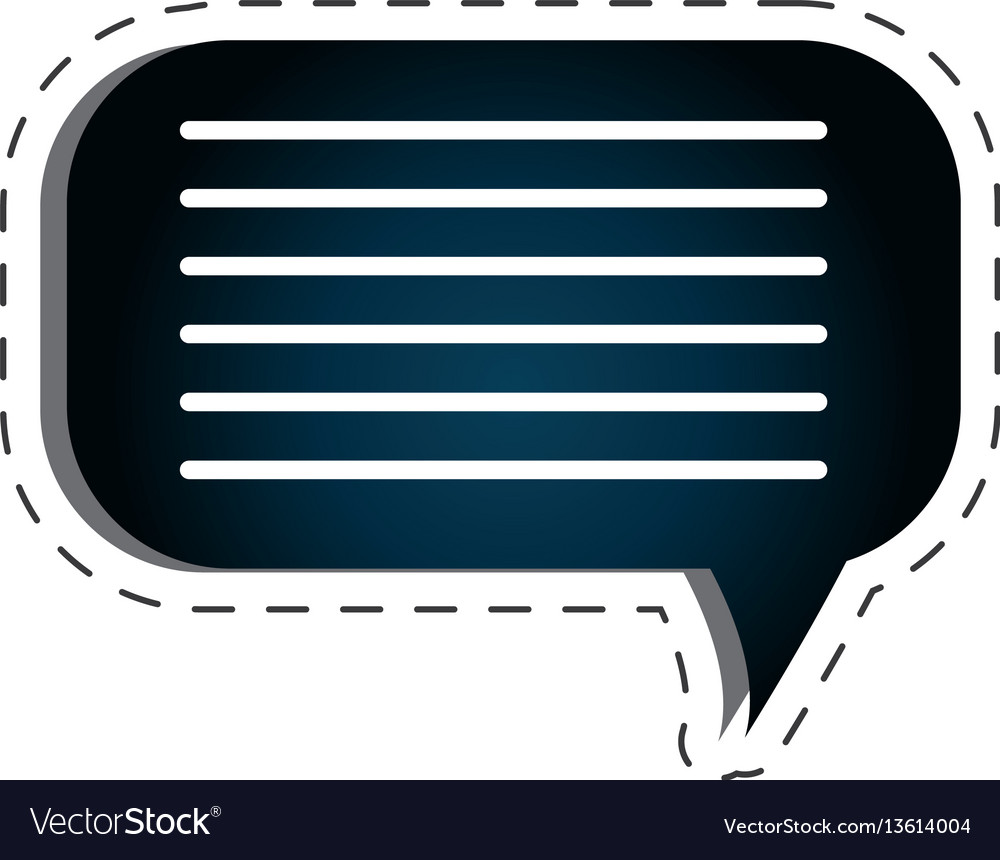 Speech bubble texting icon vector image