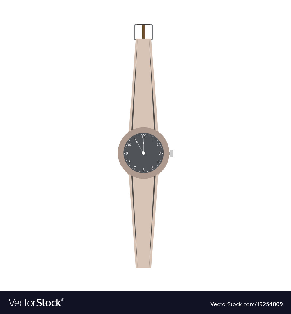 Watch hand women isolated wrist design icon