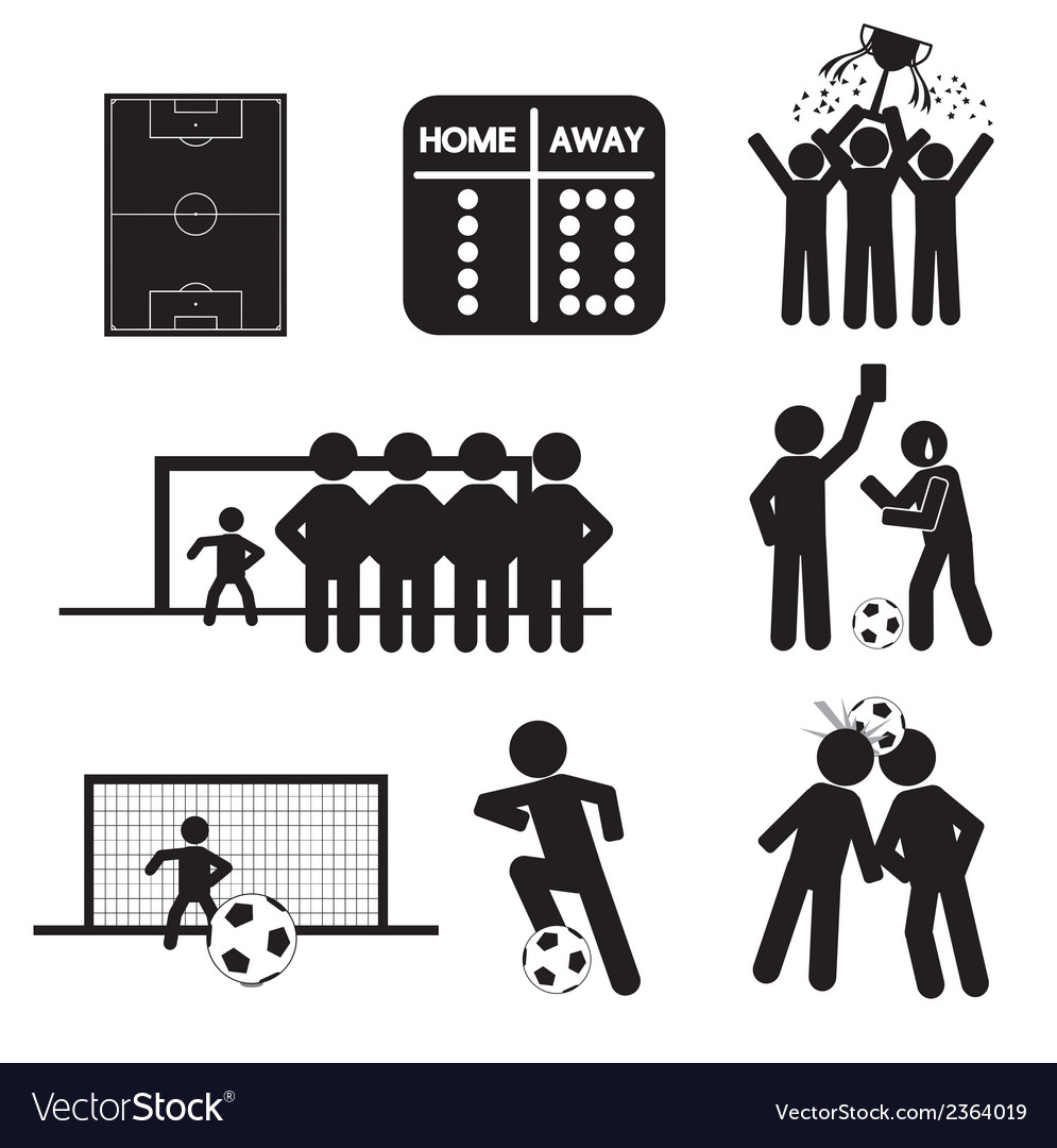 Football or Soccer Icons