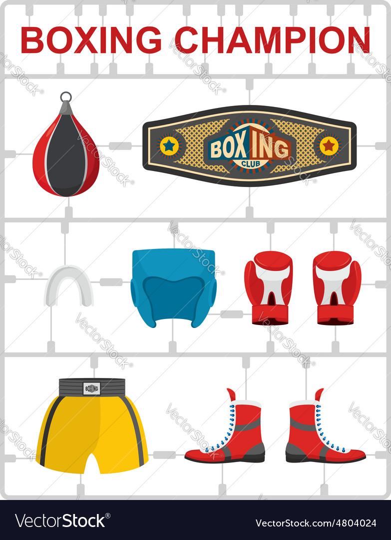 Boxing champion Plastic model kits