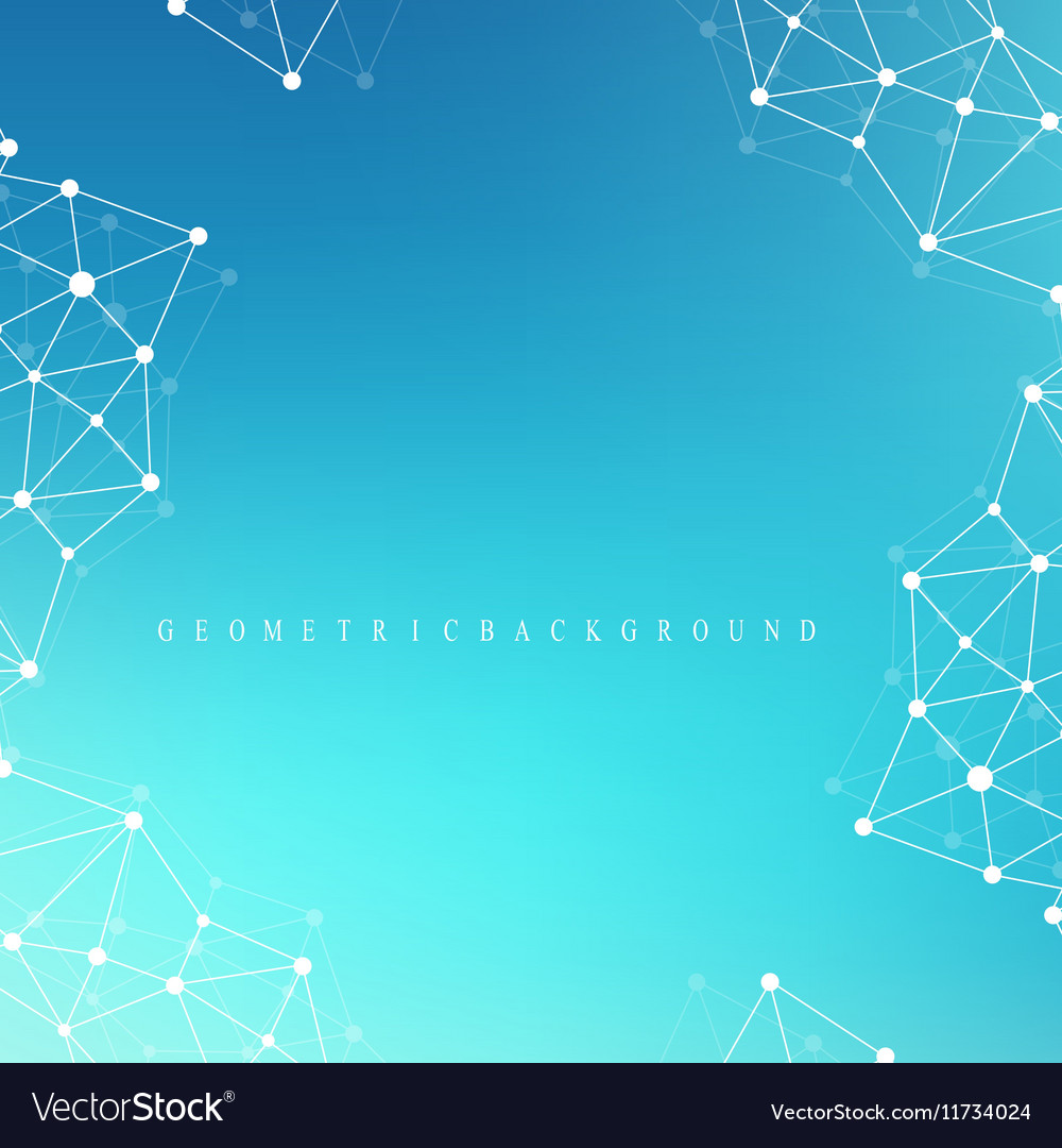 Graphic abstract background communication