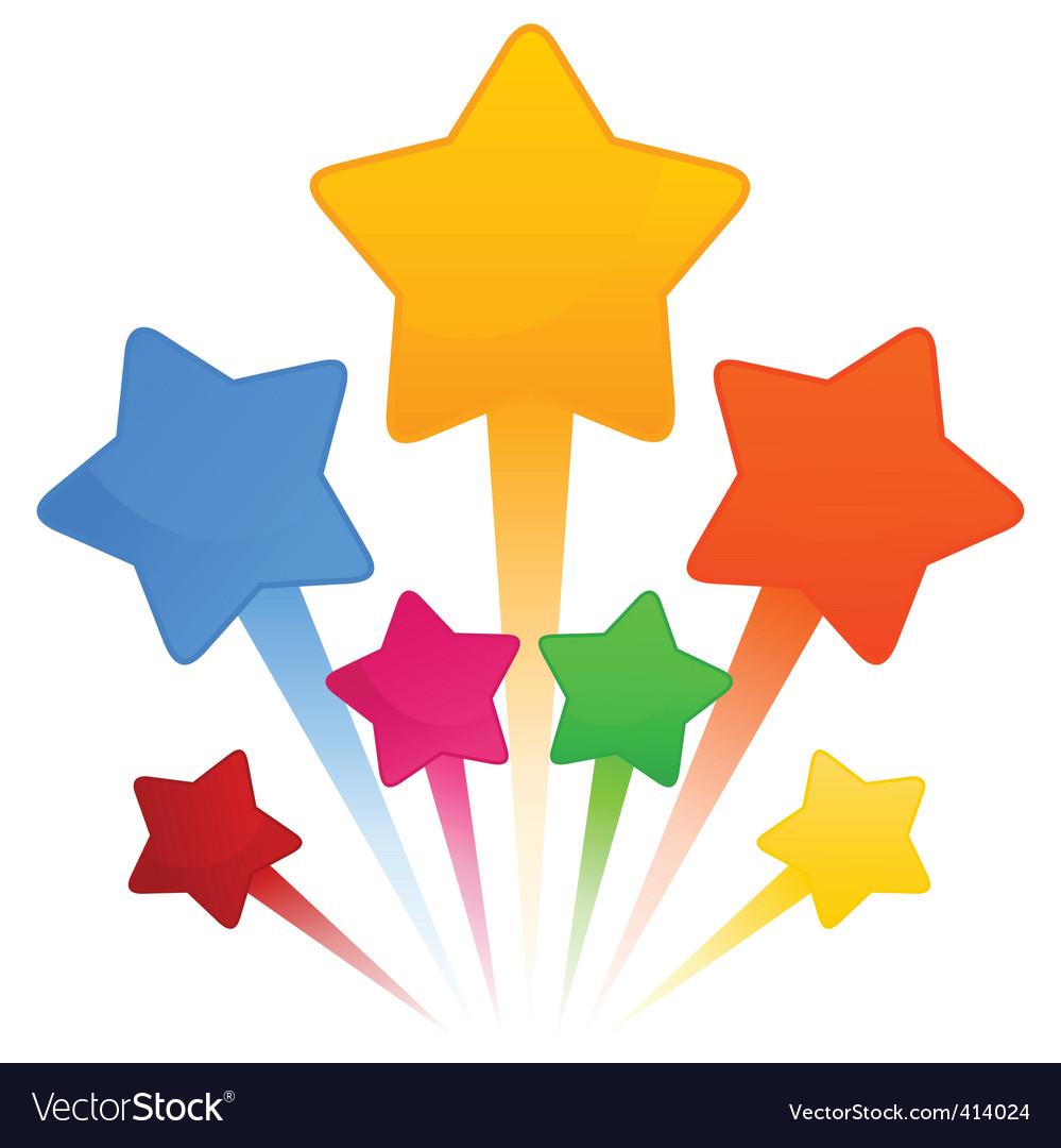 star royalty free vector image vectorstock rh vectorstock com star vector ai download star vector border