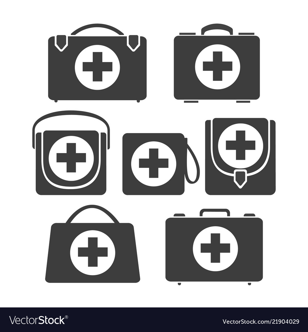 First aid icons