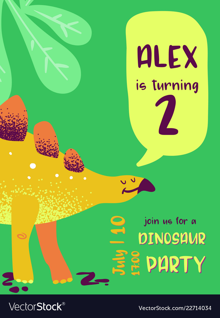 97 Baby Dinosaur Birthday Invitations