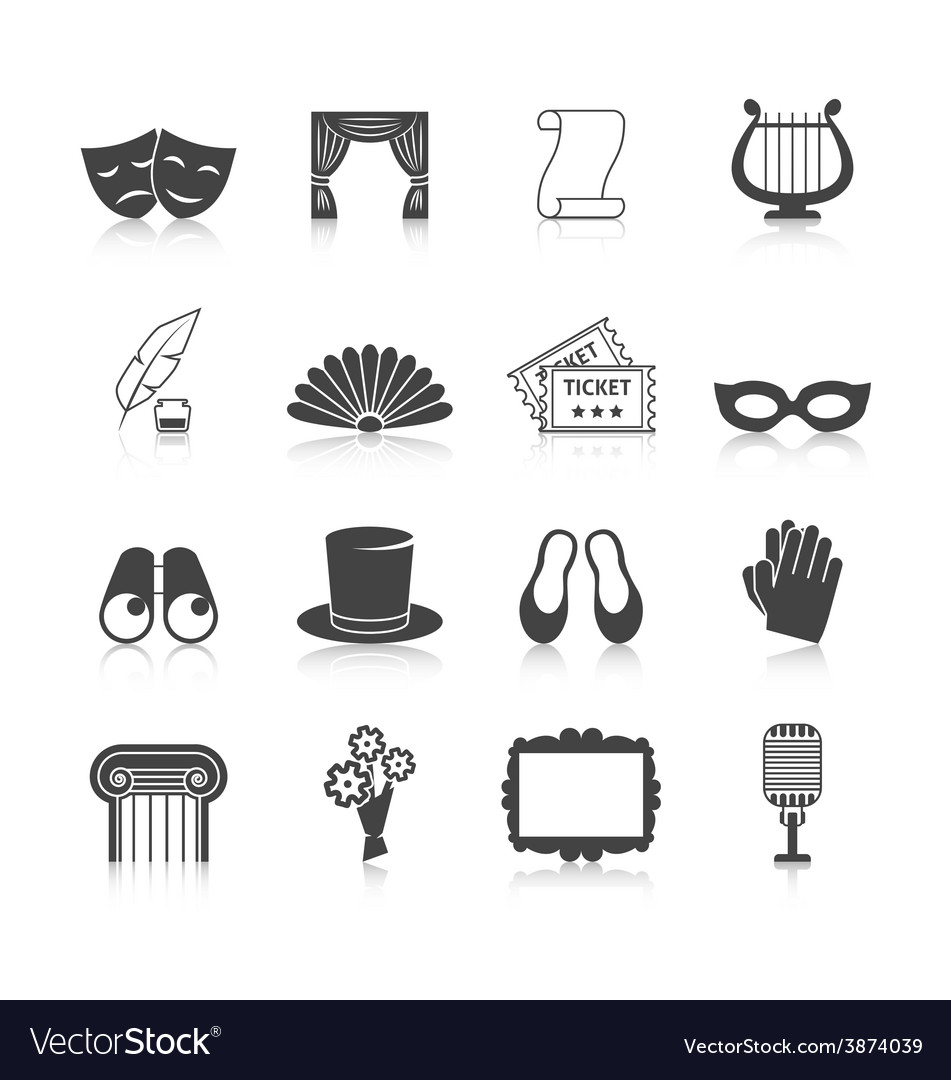 Theatre Icon Set