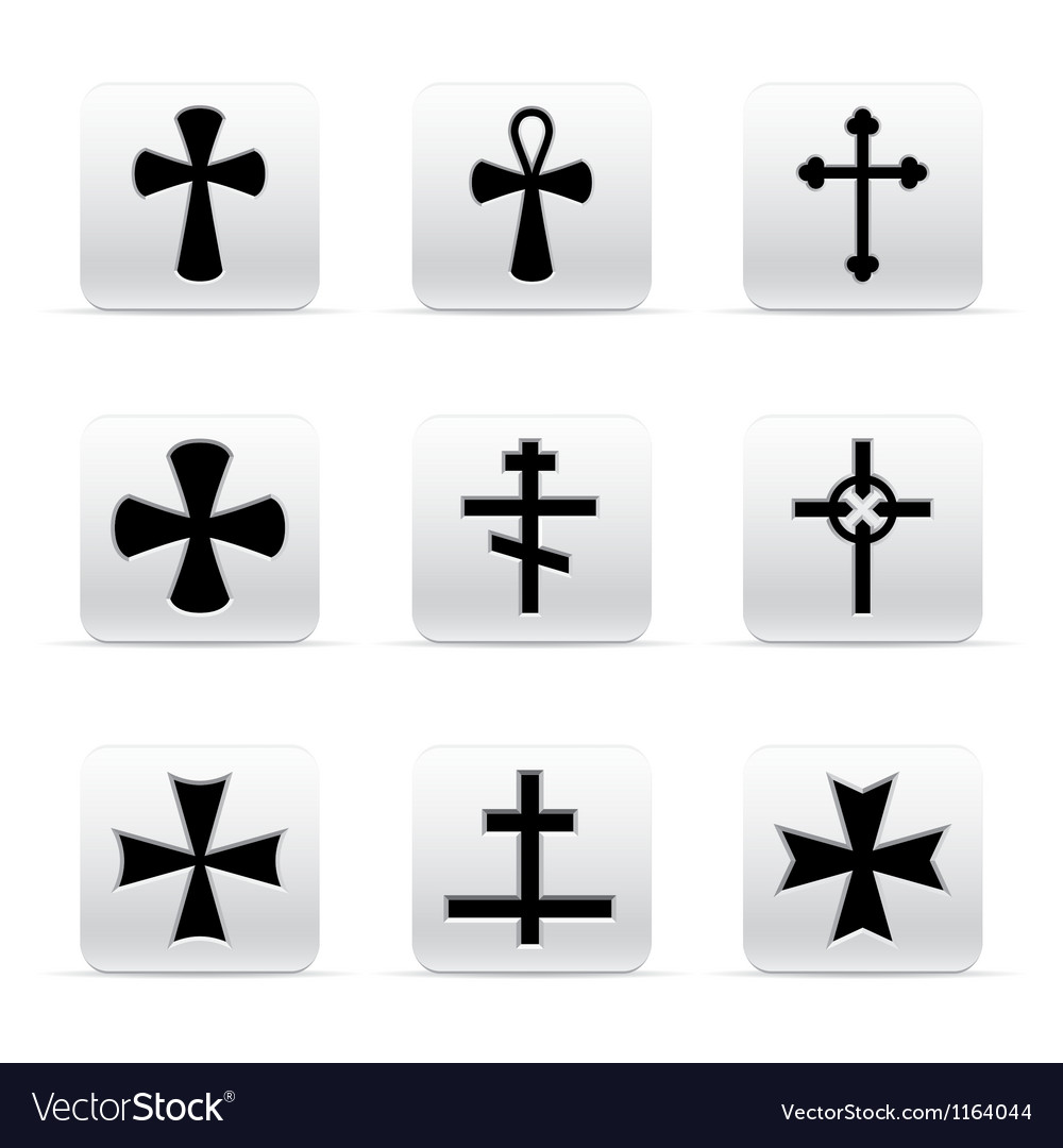 Collection of different crosses