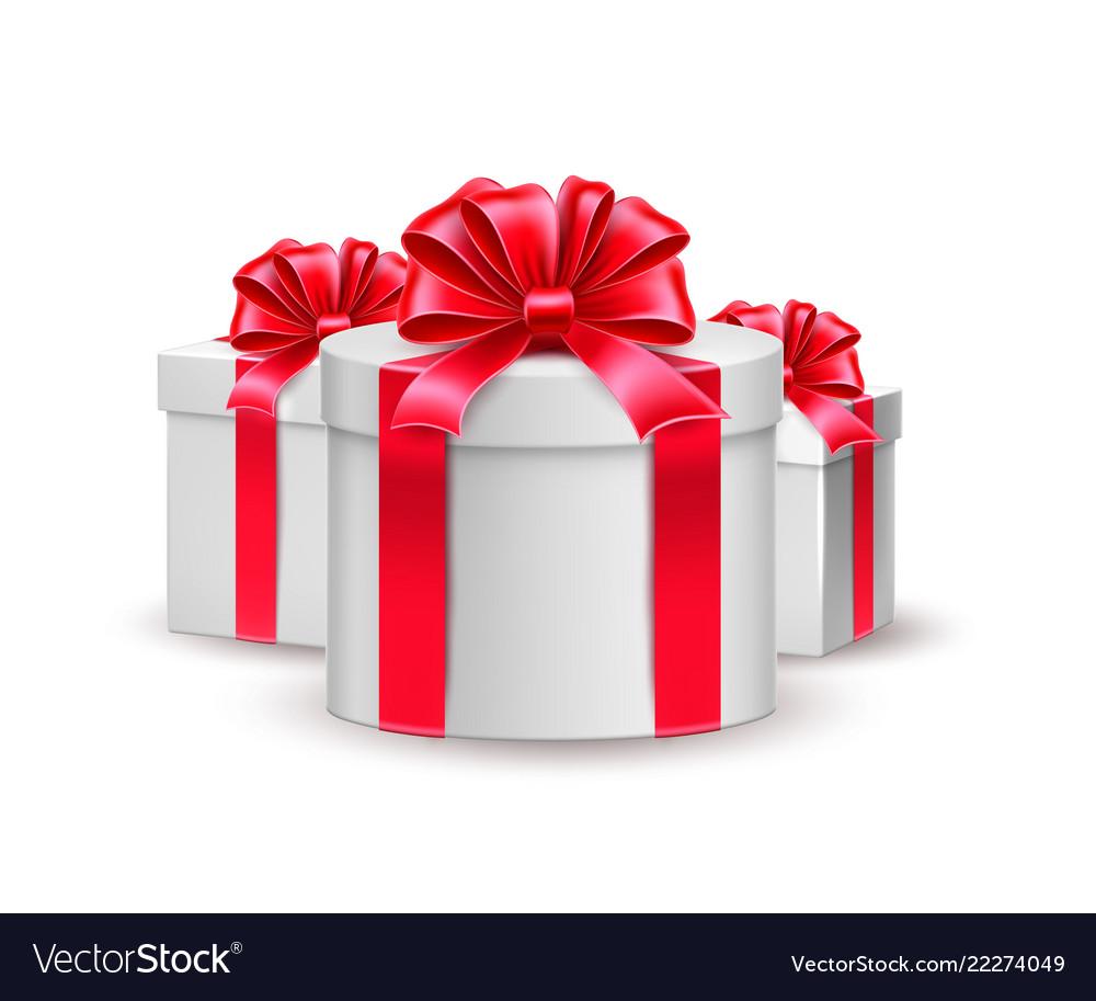 Christmas new year holiday present box gift