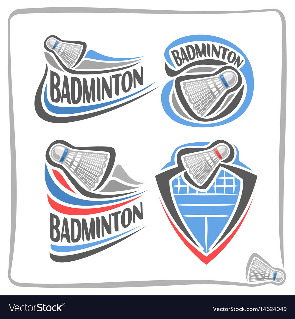 Badminton Logo Design Download