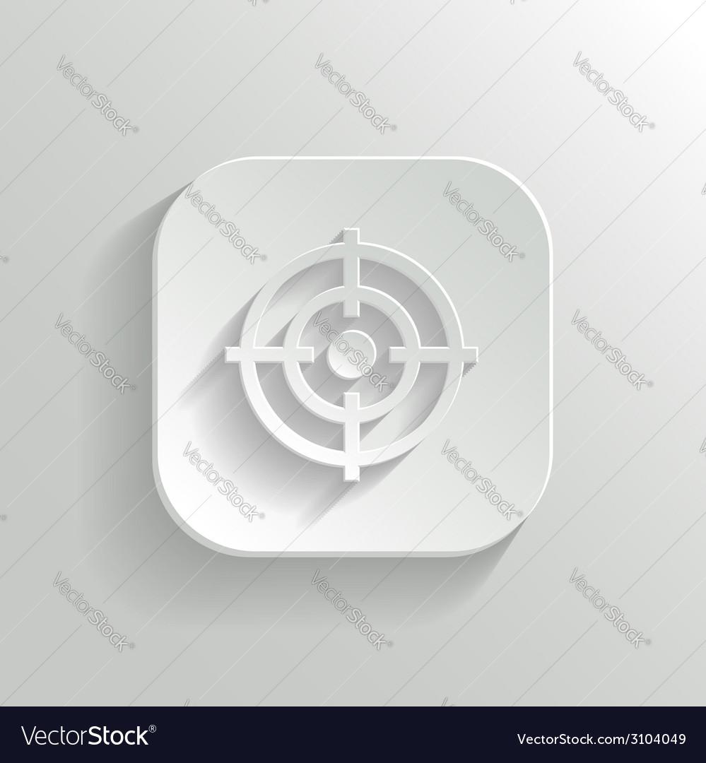 Target icon - white app button