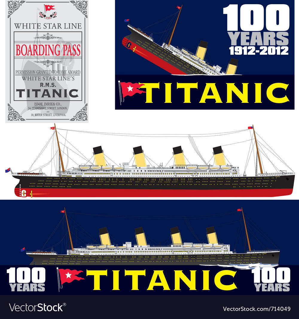 Titanic 100 years anniversary