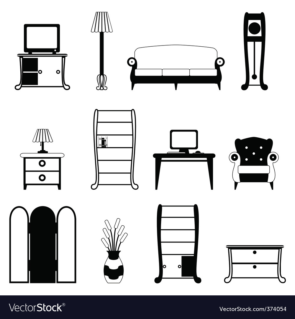 Furniture objects