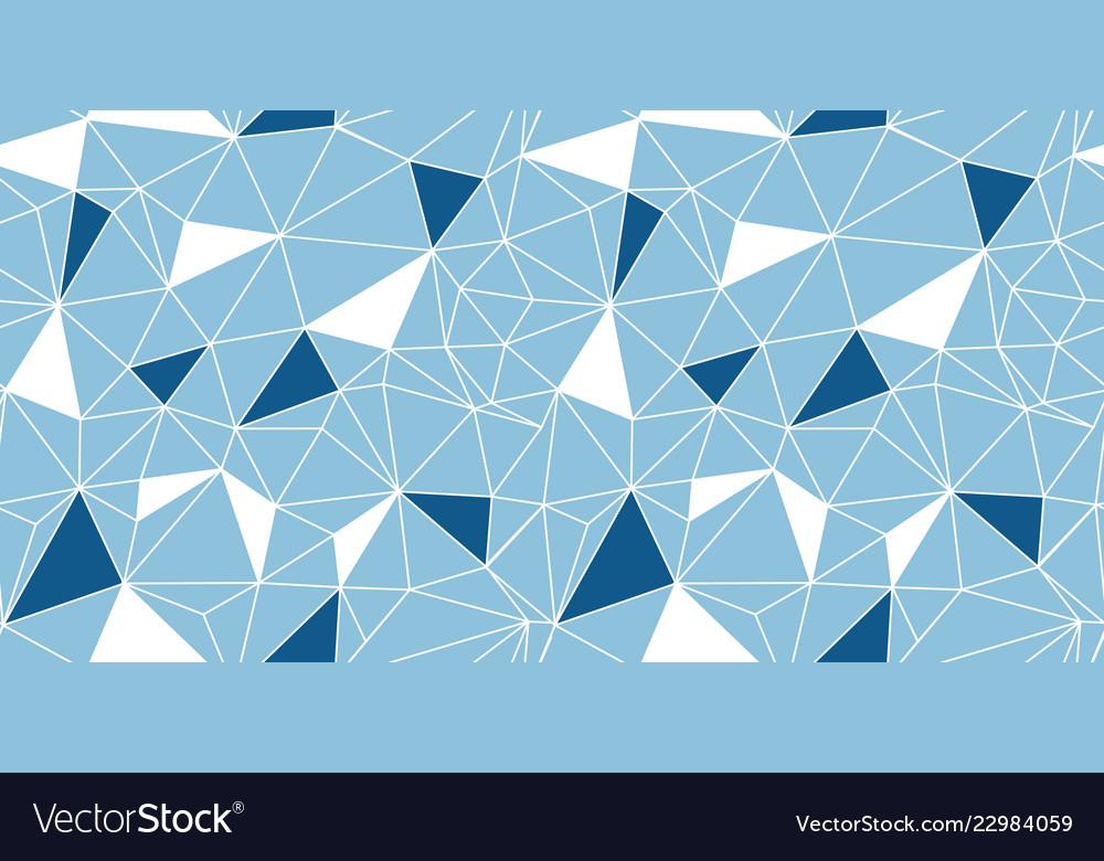Blue network web texture seamless pattern