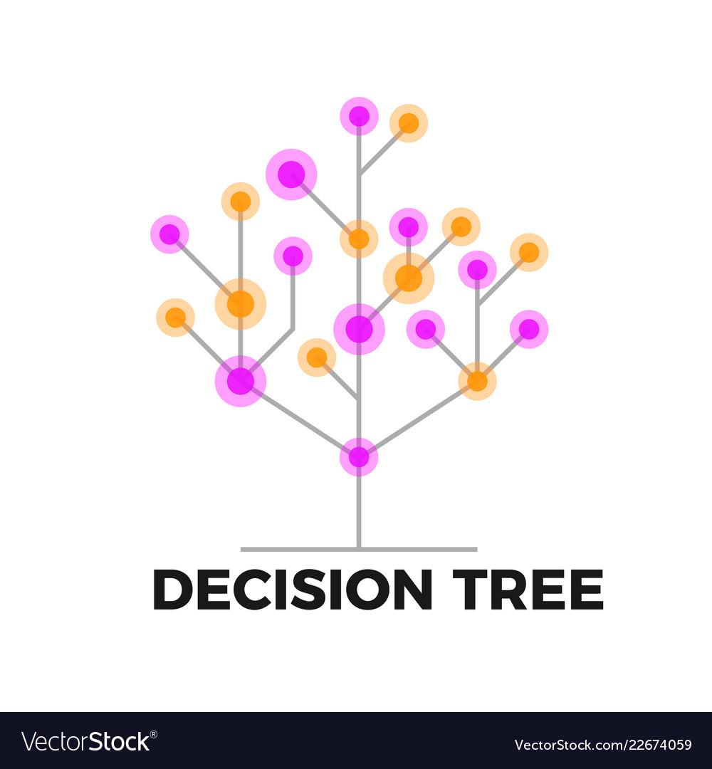 Decision tree icon