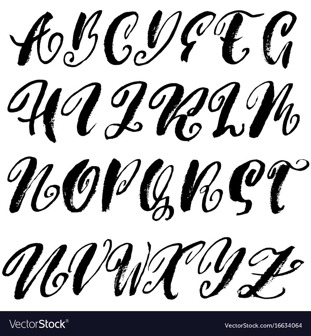 modern calligraphy font