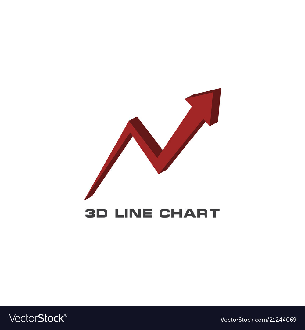 3d statistic chart graphic template