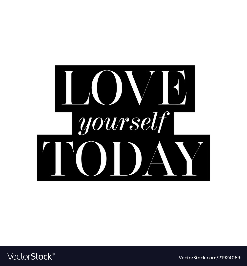 Love yourself today card fashion style lovely