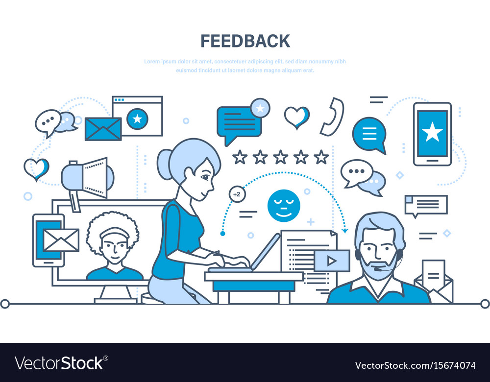 Communications support and feedback analysis