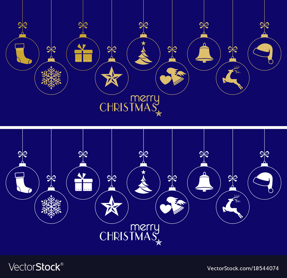 Hanging christmas baubles christmas ornaments on