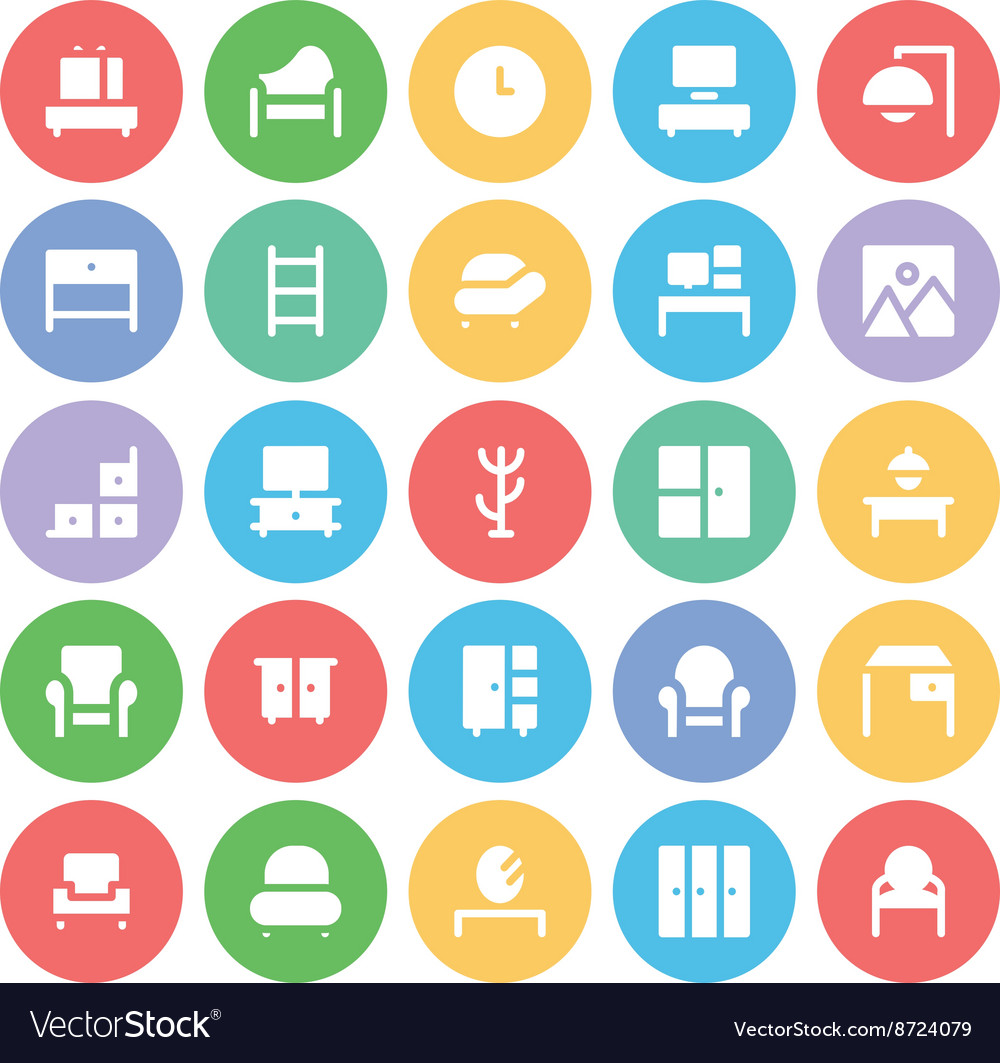 Building and Furniture Icons 7