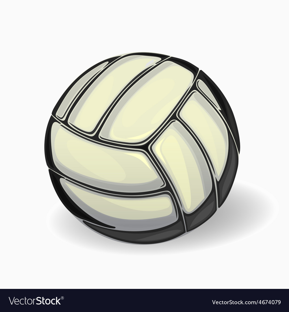 Image of a volleyball ball