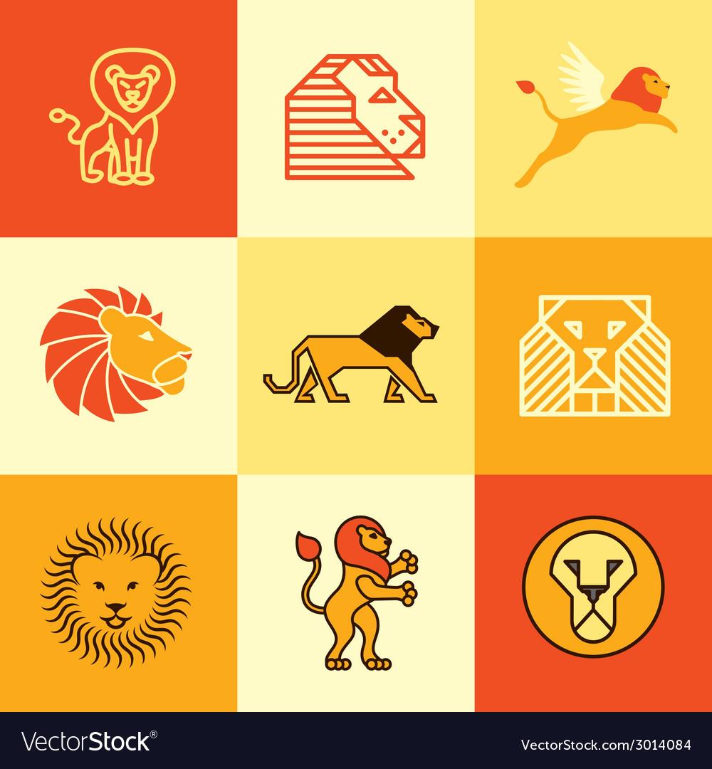 Leo logo icons