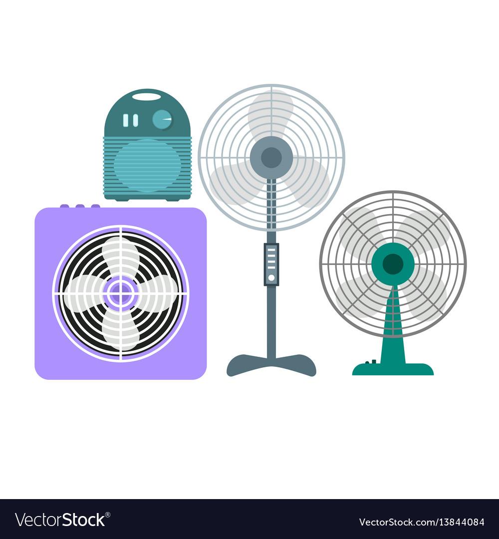 Ventilation devices set