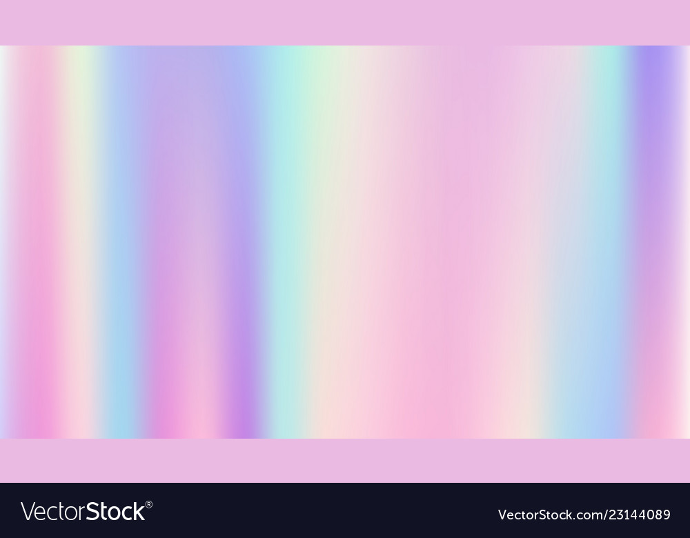 Abstract smooth and holographic background