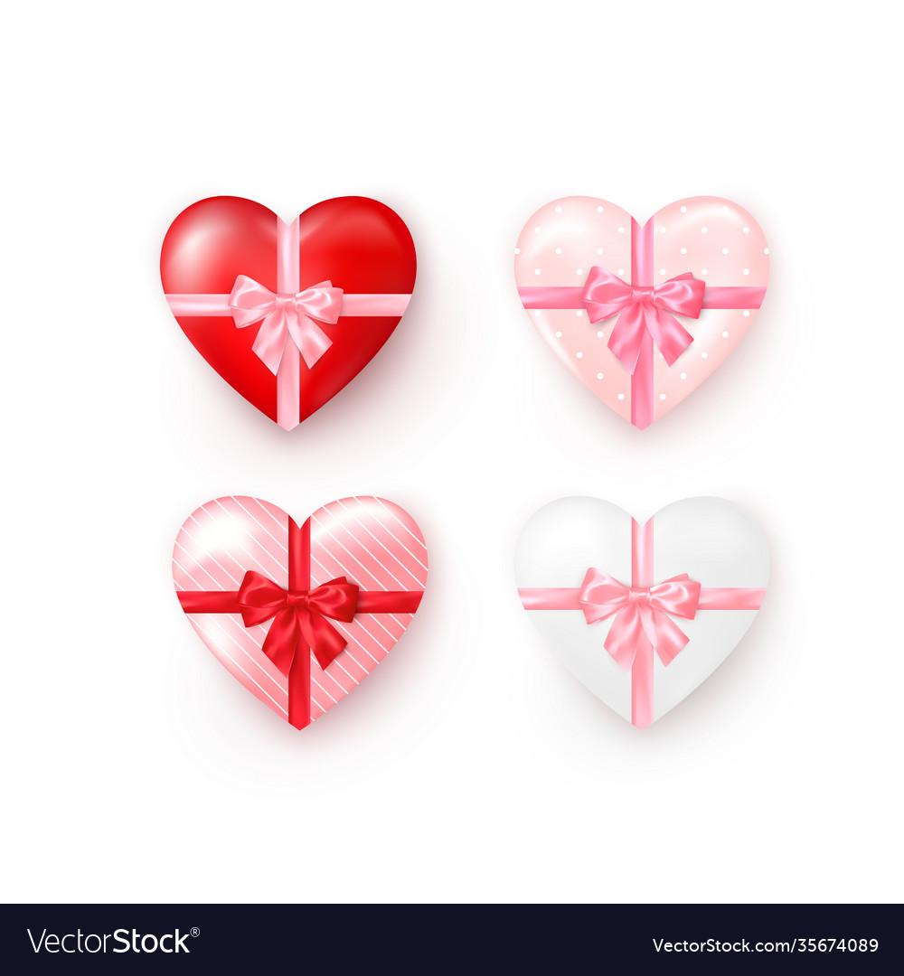 Heart bow set