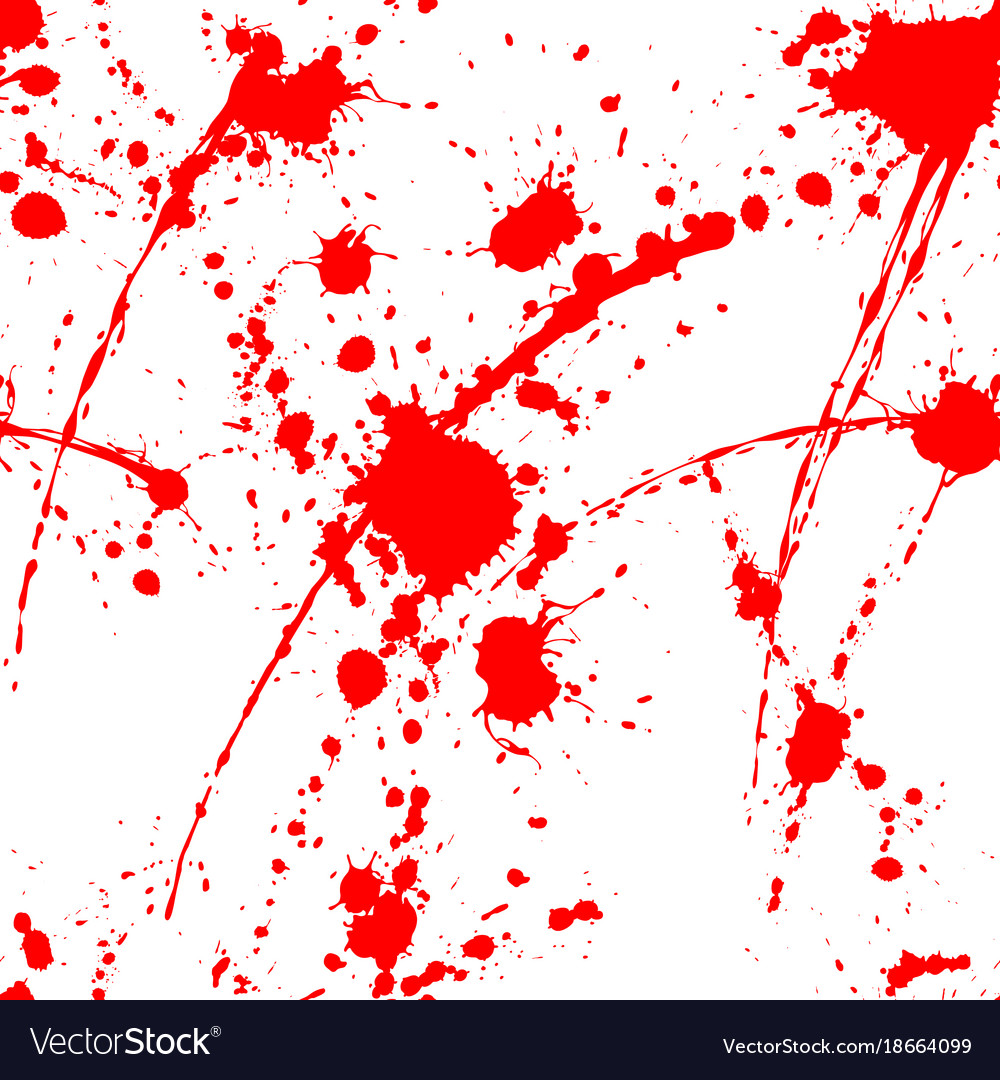 Blood splatter seamless tile