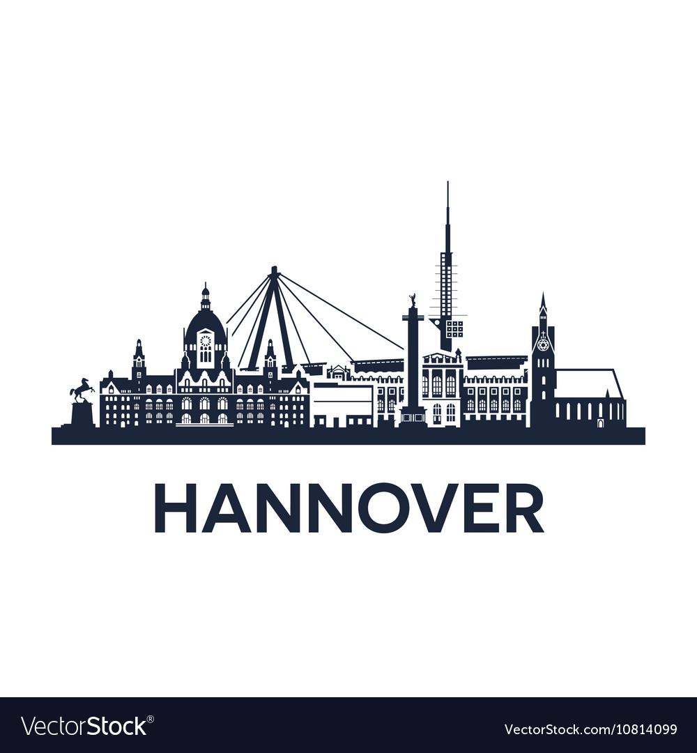 Hannover city skyline