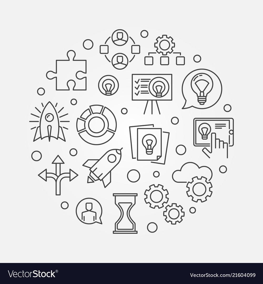 Startup concept start-up