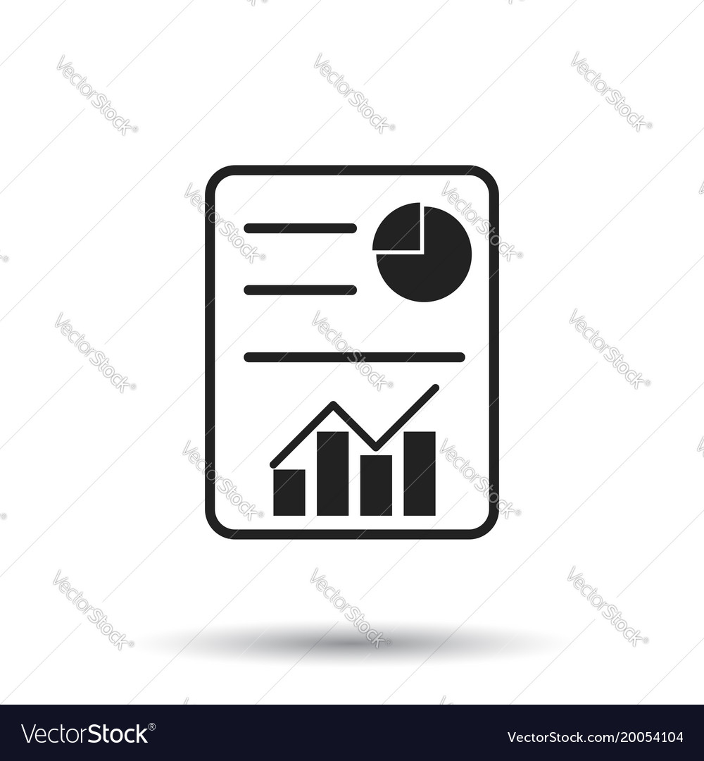 Hecklist icon flat document check sign symbol