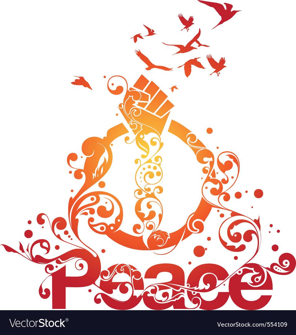 Beautiful peace design