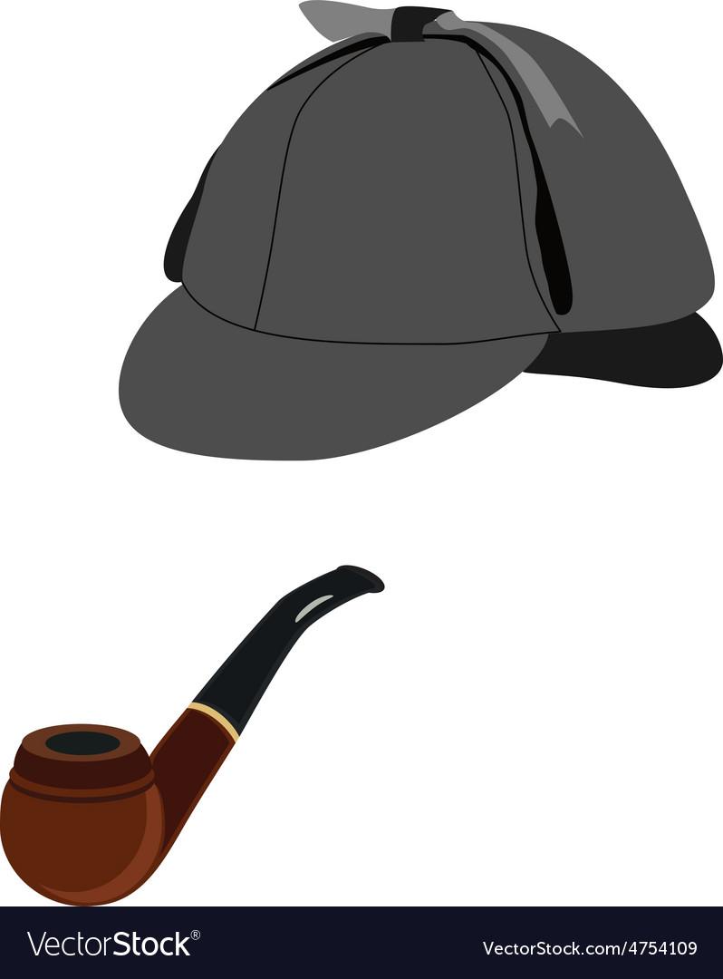 0cfdb9b5b Detective hat and pipe
