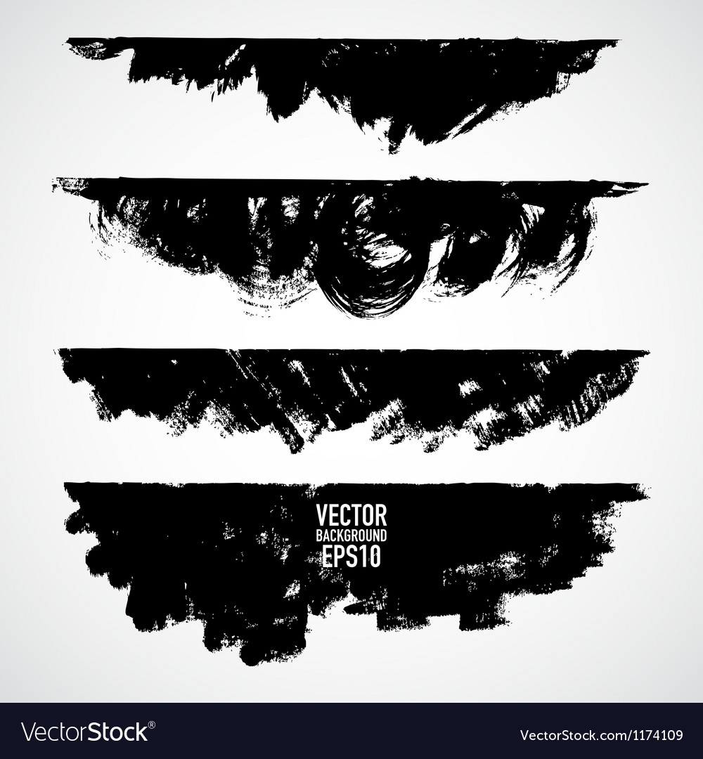 Different Grunge banners with place for your text